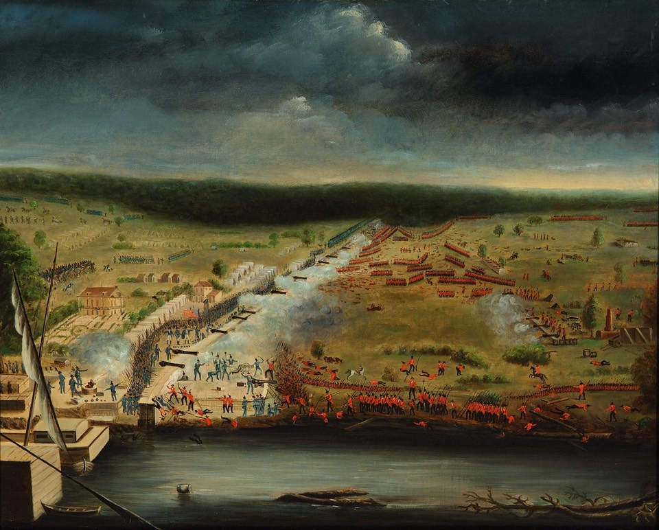 Battle of New Orleans, Jean Hyacinthe de Laclotte